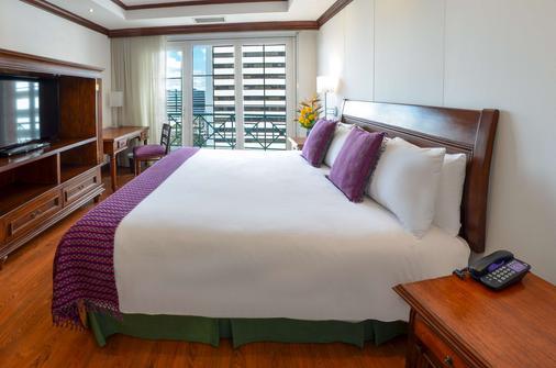 瓜地马拉卡萨维兰达酒店 - 危地马拉 - 睡房