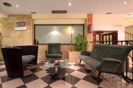 萨拉曼卡丝绸罗娜达尔巴酒店 - 萨拉曼卡 - 休息厅