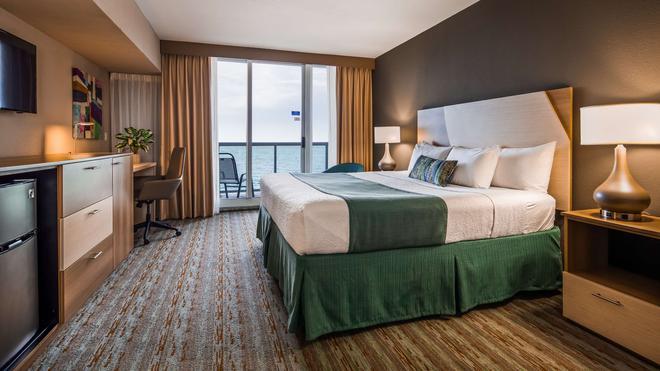 贝斯特韦斯特大西洋海滩度假酒店 - 迈阿密海滩 - 睡房