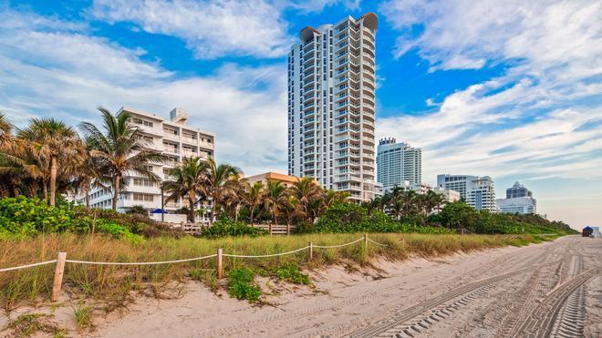 贝斯特韦斯特大西洋海滩度假酒店 - 迈阿密海滩 - 建筑