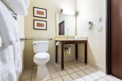 舒适套房 - 苏族瀑布 - 苏福尔斯 - 浴室