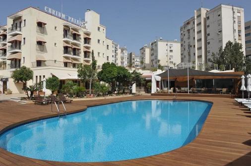 库里姆皇宫酒店 - 利马索尔 - 游泳池