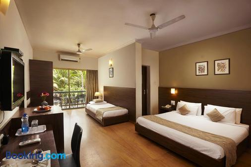 夏威夷舒适酒店 - 帕纳吉 - 睡房