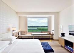 德里安达仕酒店 - 新德里 - 睡房