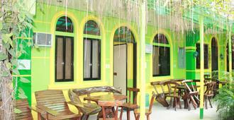 奥地利的旅馆及餐厅 - 爱妮岛 - 露台