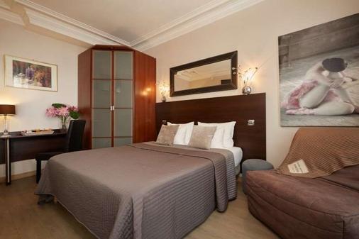 巴黎12酒店 - 巴黎 - 睡房