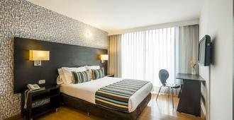哈韦里亚纳之星酒店 - 波哥大 - 睡房