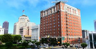 红色十字亨廷顿酒店 - 旧金山 - 建筑