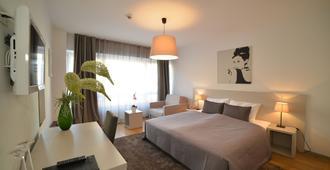 花园酒店 - 萨格勒布 - 睡房