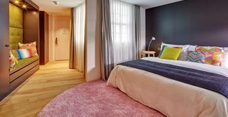卢塞恩安克酒店 - 卢塞恩 - 睡房