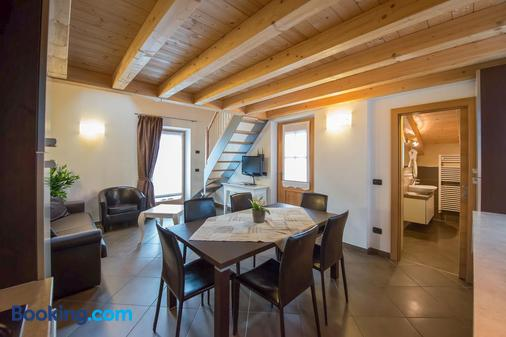Appartamenti Gallo - 利维尼奥 - 餐厅