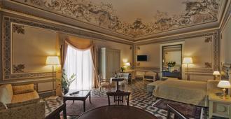 曼格内里宫酒店 - 卡塔尼亚 - 客厅