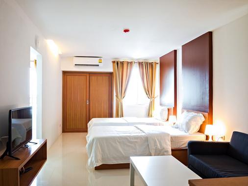 Nrv普雷斯公寓式酒店 - 曼谷 - 睡房