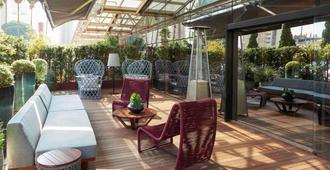 铂尔曼圣保罗伊比拉普埃拉酒店 - 圣保罗 - 露台