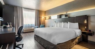 括提耶酒店 - 魁北克市 - 睡房