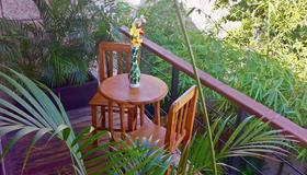 玛雅假日海滩大自然酒店 - 卡门海滩 - 露台