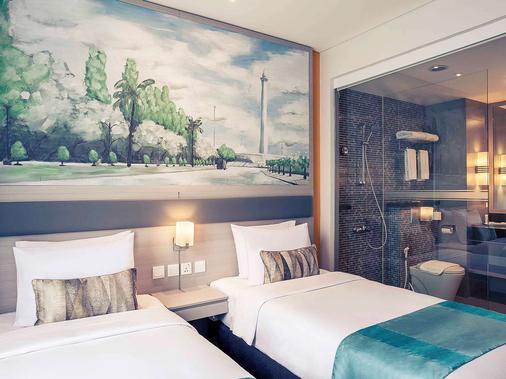 雅加达茨基尼美居酒店 - 雅加达 - 睡房