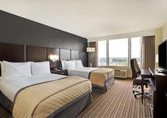 温德姆花园诺福克市中心酒店 - 诺福克 - 睡房