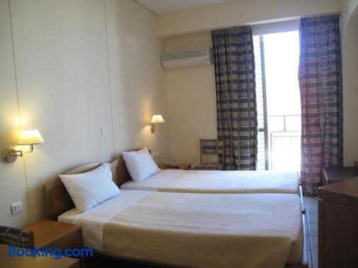 格列柯酒店 - 伊拉克里翁 - 睡房
