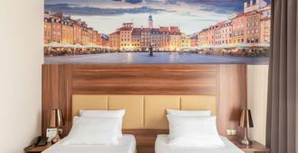 宝莱克斯基贝斯特韦斯特酒店 - 华沙 - 睡房