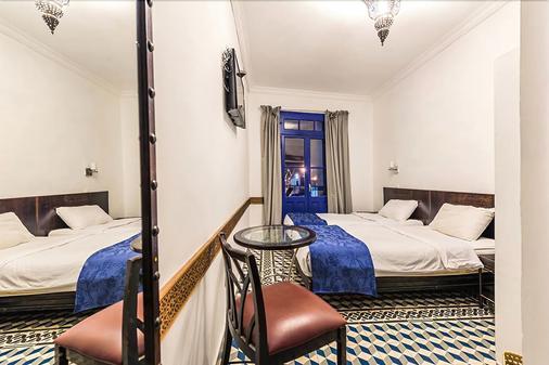 卡萨布兰卡中央酒店 - 卡萨布兰卡 - 睡房