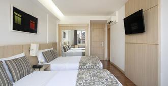 诺曼底酒店 - 贝洛奥里藏特 - 睡房