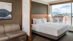 波特兰旧港区凯悦嘉轩酒店 - 波特兰 - 睡房