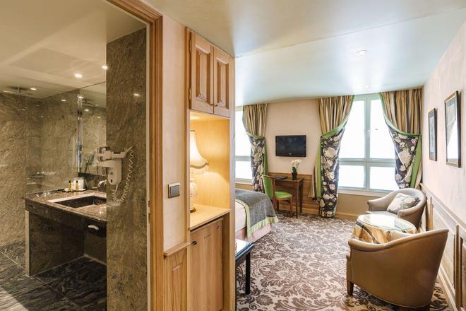 蒙帕纳斯拉佩勒酒店 - 巴黎 - 客厅