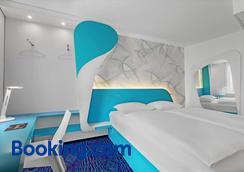 汉堡圣波利普利斯酒店 - 汉堡 - 睡房