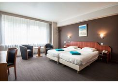 特尔斯特里普酒店 - 奥斯坦德 - 睡房