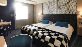 第戎市中心克列孟梭美居酒店 - 第戎 - 睡房