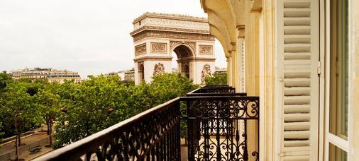 伊特莱尔辉煌饭店 - 巴黎 - 阳台
