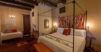 埃尔比特里欧卡萨博物馆酒店 - 圣多明各 - 睡房