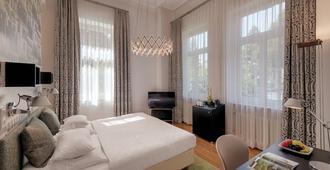 古德斯堡别墅 - 德里森精品酒店 - 波恩(波昂) - 睡房