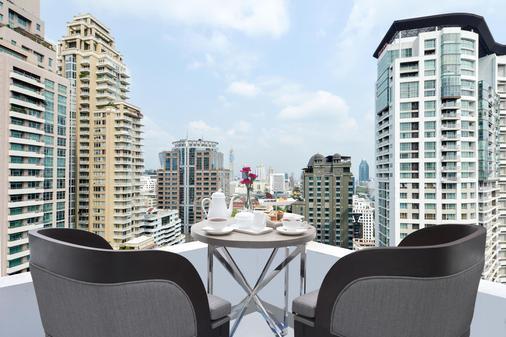 奇德伦中心站酒店 - 曼谷 - 阳台