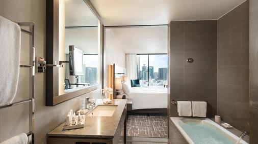 墨尔本南码头希尔顿酒店 - 墨尔本 - 浴室