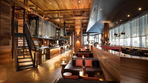 墨尔本南码头希尔顿酒店 - 墨尔本 - 酒吧