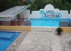 埃克斯泰尔酒店 - Crucecita - 游泳池