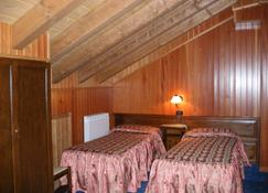 圣塔桑酒店 - 阿亚斯 - 睡房