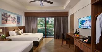 D'度假村@东市中心木屋 - 新加坡 - 睡房