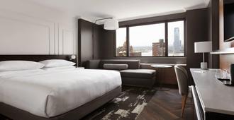 纽约市中心万豪酒店 - 纽约 - 睡房