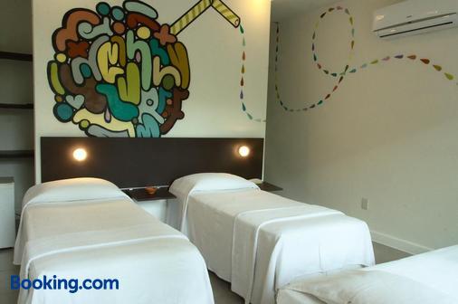 涂鸦别墅旅馆 - 莫罗圣保罗 - 睡房