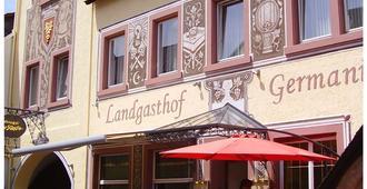 德国兰加斯霍夫酒店 - 吕德斯海姆 - 建筑