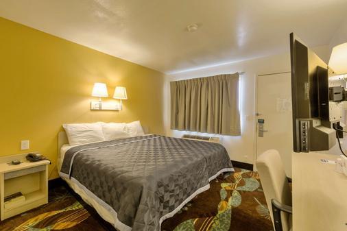 阿马里洛机场/格兰街美洲最佳价值旅馆 - 阿马里洛 - 睡房