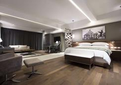 克斯塔尔因斯尔基恩特斯大套房酒店 - 墨西哥城 - 睡房