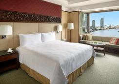 曼谷香格里拉大酒店 - 曼谷 - 睡房