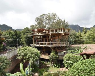 荷鲁斯桑图雅里奥荷里斯提科酒店 - 特坡兹特兰 - 建筑