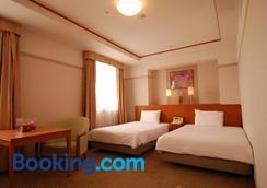 京都大津Tetora酒店 - 大津市 - 睡房