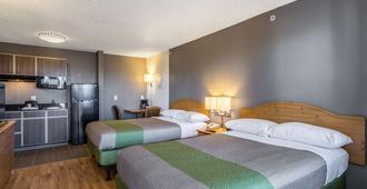 新墨西哥阿尔伯克基 - 北 6 号开放式客房酒店 - 阿尔伯克基 - 睡房