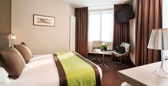 阿克罗波勒酒店 - 巴黎 - 睡房
